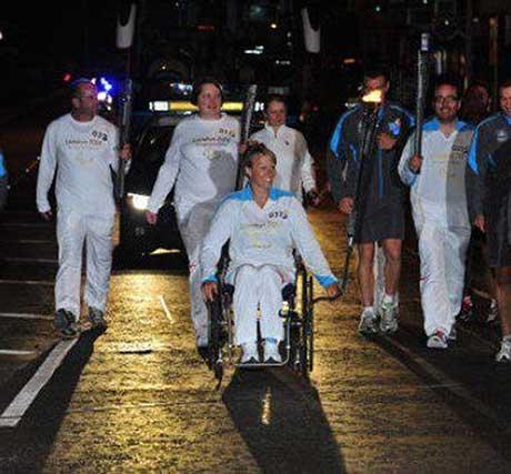 Kristina Veasey, Paralympian