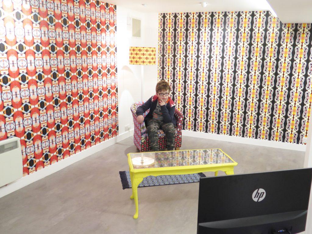 My Dirty secret! installation by Kristina Veasey